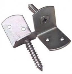 L-beslag is uiterst geschikt voor het monteren van schuttingpalen of tuinpalen aan jouw schutting of hekwerk.