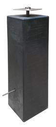 Betonpoeren 15x15cm zijn een zeer geschikte poer om een deel boven de grond uit te laten steken en uw verandapalen op te plaatsen voor een luxere uitstraling van uw veranda en een langer behoud van de houten staanders.