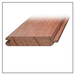 Een visbekdeel is een plank met veer en groef, met een klein afgeschuind kantje (v-groef). Visbekdelen worden onder meer gebruikt voor vloeren, wanden of plafonds.