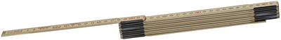 Deze Hultafors klassieker is een must voor elke vakman. Traditioneel gefabriceerd van zachte berk met Zweedse stalen scharnieren, die zorgen voor slanke delen en een uitstekende flexibiliteit. De metrische schaal is aan beide zijden zwart met de decimeters in het rood. Type goedgekeurd als EU klasse III. Gecoat met een watergedragen beschermende lak voor meer weerstand tegen vuil en vocht. De verbindingen hebben een warmtebehandeling ondergaan, zijn gecoat en geolied op drie punten om eersteklas prestaties te garanderen. Alle gedeelten van de duimstok worden tijdens het productieproces tweemaal gecontroleerd met high-speed camera's.