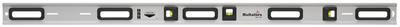 De MST waterpas is onze sterkste en gevoeligste waterpas. De breukvaste bloklibellen zijn UV-resistent en is bestand tegen grote temperatuurwisselingen. De +30% vergrotende lens en de lichtgevende reflector maken deze waterpas makkelijk af te lezen. Het geheel is gemaakt van een sterk aluminium profiel van 100x25 mm en een gewicht van 1180 g/m. Hij is eenvoudig schoon te maken en is voorzien van ergonomische handvatten. De radius van de libel is 2.000 mm, voor een gevoeligheid van 1 mm/m. Tolerantie in normale positie is ±0,3 mm/m. Gaten in het aluminium profiel maken het mogelijk om de waterpas aan een muur te bevestigen, zodat het ophangen van (keuken)kastjes veel eenvoudiger wordt. De vloeistof in de libel is zeer goed bestand tegen ultraviolet licht en temperatuurwisselingen, de bubbel heeft een optimale bewegingsvrijheid in de libel. De antistatische eigenschappen van de vloeistof zorgen ervoor dat statische electriciteit geen invloed heeft op de bubbel.