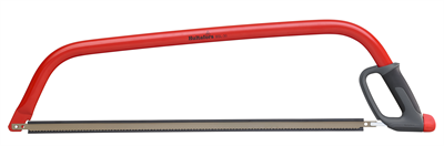 Deze professionele boogzaag heeft een ergonomisch handvat en knokkelbescherming voor een efficiënt en veilig gebruik. Het handvat van PP en rubber biedt een uitstekende grip in natte en droge omstandigheden. Het metalen frame is gemaakt van kwaliteitsstaal en voorzien van een robuuste lak om te beschermen tegen roest. De boogzaag is ontwikkeld voor duurzaamheid voor gebruik in de natuur en in de bouw. Het zaagblad is gemaakt van C75 staal en de zaagtanden zijn gehard en hoeven niet gescherpt te worden met een vijl. De zaag is uitgerust met een universeel zaagblad voor het beste resultaat bij het zagen van zowel droog als vers hout. Daarnaast heeft de zaag een driehoekige vorm voor extra toegankelijkheid in smalle ruimtes. Handvat van PP en rubber Zaagblad gemaakt van C75 staal Geharde zaagtanden Driehoekige vorm voor extra toegankelijkheid in smalle ruimtes