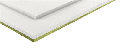 Het fermacell Vloerelement 2 E 32 met minerale wol isolatie bestaat uit 2 fabrieksmatig met elkaar verbonden gipsvezelplaten van 10 mm dikte met een liplas van 50 mm en is aan de onderzijde voorzien van een minerale wol plaat van 10 mm dikte. Toepassing Het fermacell Vloerelement 2 E 32 is als droge dekvloer zowel bij renovatie, bij verbouwingen van bestaande gebouwen als ook bij nieuwbouwprojecten toe te passen. Toepassing in het bijzonder: ? Voor lucht- en contactgeluidisolatie bij massieve of lichte vloerconstructies (bv. houten vloeren). Ook de geluidisolatie eisen van woningscheidende vloeren kunnen behaald worden. ? Toepassingsgebieden: Woningen, gangen en zolderverdiepingen in woongebouwen, hotelkamers en badkamers in hotels (toepassingsgebied 1*). Bij volledige verlijming van een extra laag fermacell Gipsvezelplaat van 10 of 12,5 mm (belastingspreidende laag) op het fermacell Vloerelement 2 E 32 wordt de belastbaarheid van de vloer verhoogd zodat deze inzetbaar wordt in toepassingsgebied 2* (kantoorgebouwen). ? Ter verhoging van de brandwerendheid: 60 minuten brandwerend van boven naar onder. Eigenschappen en productvoordelen ? Brandwerendheid en geluidwering in één element. ? Volledig droog vloersysteem, snelle verwerking. ? Gering gewicht. ? Ondergrond geschikt voor alle soorten vloerafwerking. ? Duurzaam: fermacell Gipsvezelplaten bestaan uit papier (gerecycled), gips (gerecycled) en water (waterzuiveringsinstallatie).