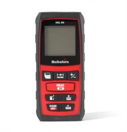 Intuïtieve en gebruiksvriendelijke afstandsmeter met een bereik tot 80 meter. Hoge precisie, een compact ontwerp en een zachte opberghoes zorgen ervoor dat je hem eenvoudig meeneemt. Het display is verlicht voor een betere leesbaarheid in een slecht verlichte werkomgeving. Deze afstandsmeter is zeer geschikt voor het meten van lange afstanden, uitlijnen van kabels/buizen, berekenen van oppervlakken en het doen van metingen in slecht bereikbare plaatsen. HDL is tevens geschikt voor indirecte 2- of 3-puntsmetingen. De tolerantie is 1,5 mm en het bereik van de meting is van 20 cm tot 80 meter. Golflengte: 635 nm Laser klasse: 2 Beschermingsklasse: IP54 Gebruik bij temperaturen: 0°C tot +40°C 2xAAA batterijen (niet meegeleverd)