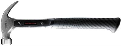 Een ergonomisch ontworpen hamer, uit één stuk gegoten voor meer duurzaamheid met een urethaan plug die de trillingen dempt. De dunne, sterke klauw zorgt ervoor dat je makkelijk overal bij kunt zonder afdrukken achter te laten. De klauwopening en hoek geven de best mogelijke grip op de spijker. Als je deze hamer in de hand hebt voel je direct de ergonomisch ontworpen greep, de uitstekende grip en de duidelijke eindstop. Schokabsorberende urethaan plug. Het slagvlak heeft precies de goede hoek en maat. Stalen steel met I-profiel voor meer duurzaamheid. Slanke, sterke klauw om makkelijk overal bij te kunnen en geen afdrukken achter te laten. Bovendien is de klauw afgerond om te voorkomen dat uw broek scheurt. Aanvullende informatie: Registered Community Design No. 000843404-1/4