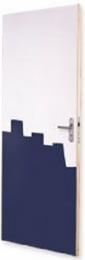 Berkvens deuren vlak model 900 (dicht) 40 mm dik met honingraatvulling.