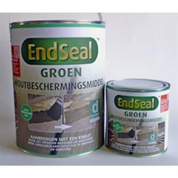 EndSeal™ beschermt na zagen of boren EndSeal™ zorgt voor de bescherming van uw verduurzaamde hout na het zagen of boren. EndSeal™ herstelt de integriteit van het hout en beschermt hierdoor tegen houtrot en insecten. U heeft keuze uit groen (voor groen verduurzaamd hout) of bruin (voor bruin verduurzaamd hout).