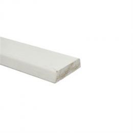 Mixed hardwood architraaf gegrond schuin 12x45mm